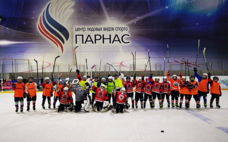 Игровой лед для Хоккеистов